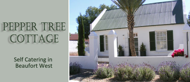PEPPER TREE COTTAGE, BEAUFORT WEST